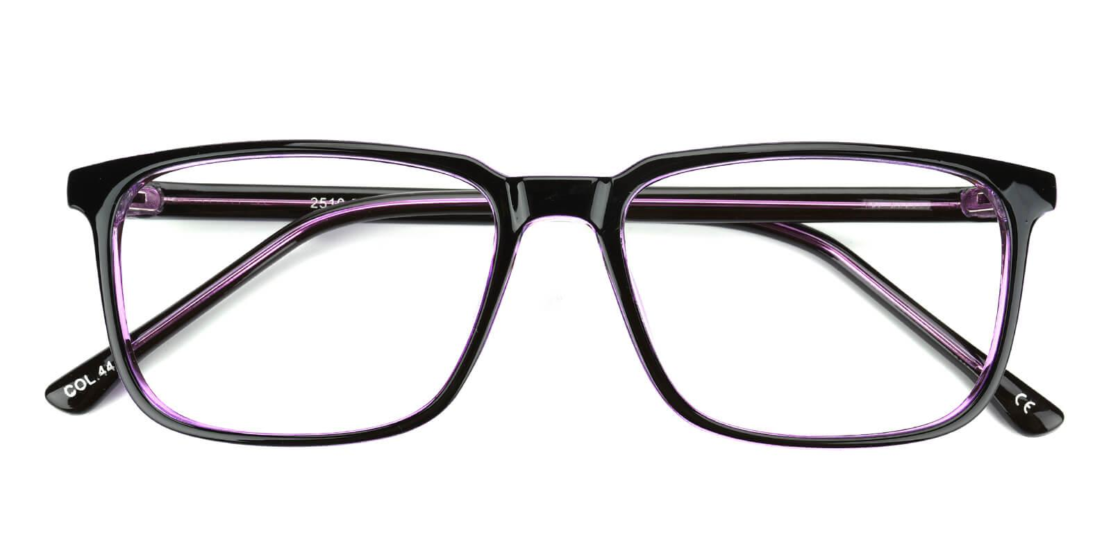 Plateney-Purple-Rectangle-Acetate-Eyeglasses-detail