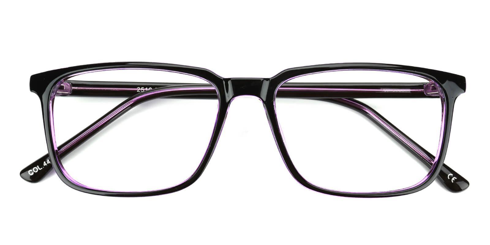Plateney-Purple-Rectangle-Acetate-Eyeglasses-detail