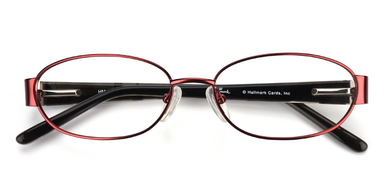 Katelian-Red-Oval-Combination-Eyeglasses-detail