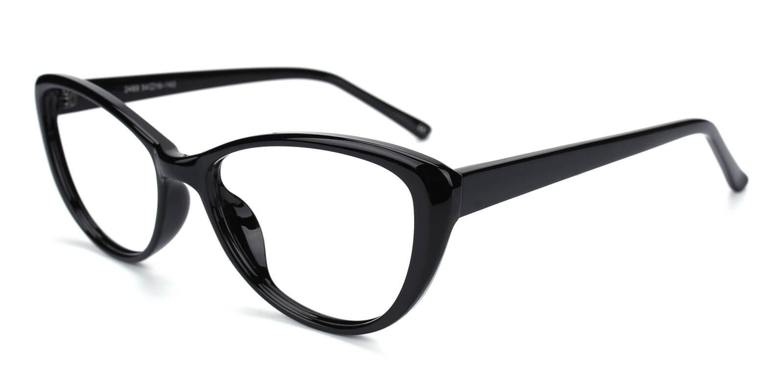 Slackey-Black-Oval / Cat-Acetate-Eyeglasses-additional1