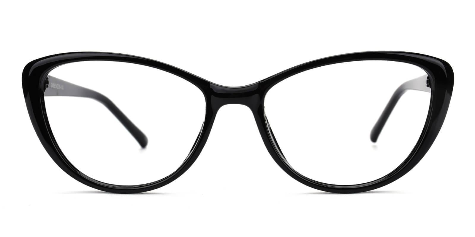 Slackey-Black-Oval / Cat-Acetate-Eyeglasses-additional2