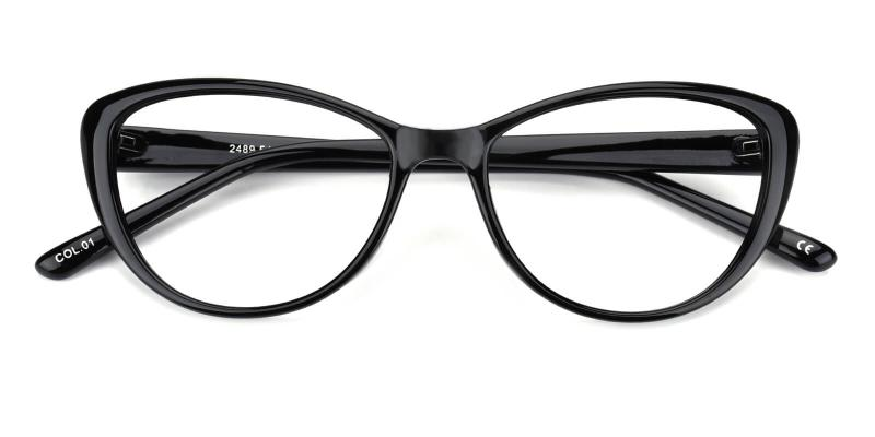 Slackey-Black-Eyeglasses