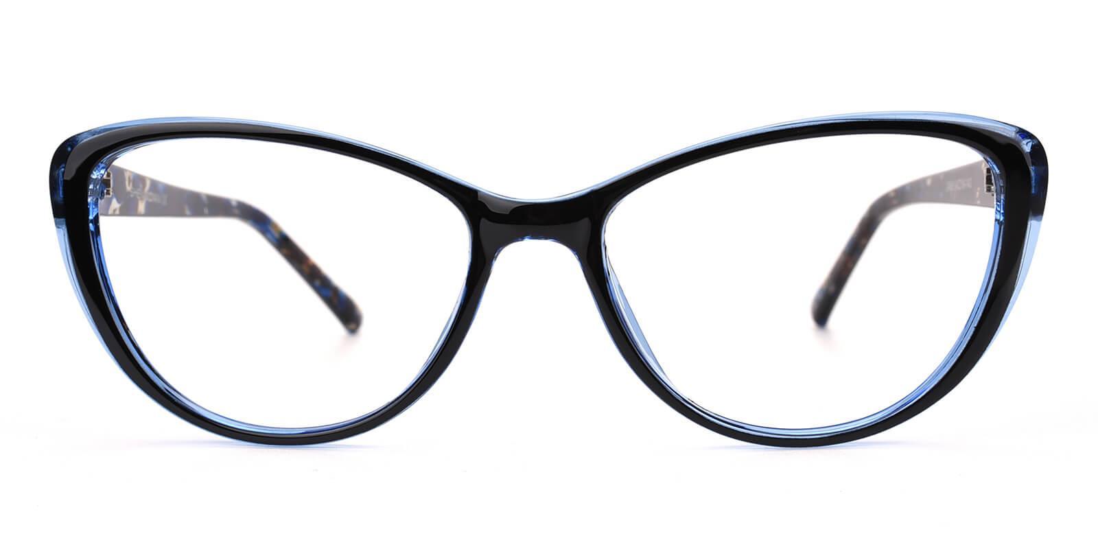Slackey-Blue-Oval / Cat-Acetate-Eyeglasses-additional2