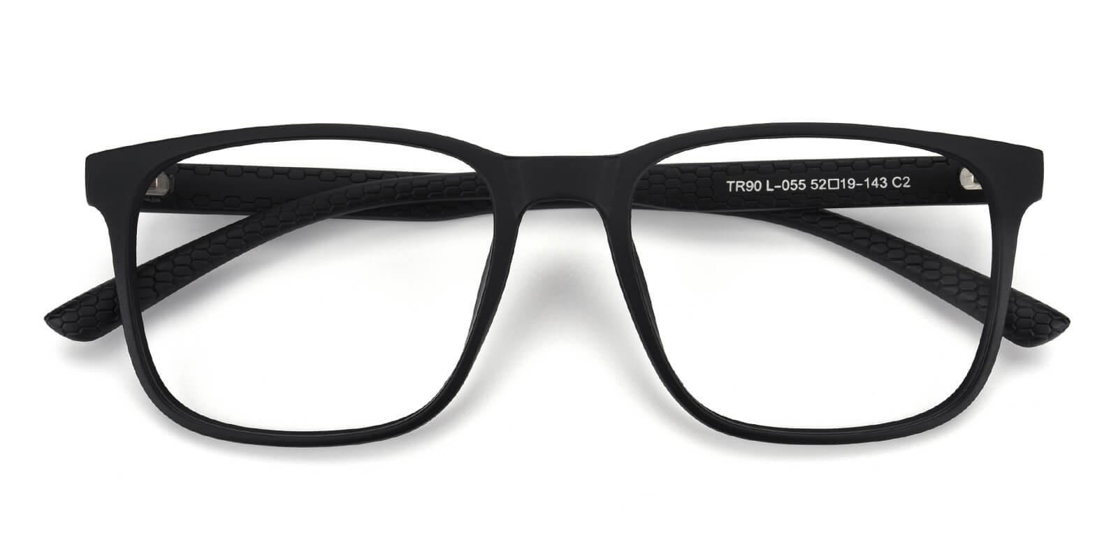 Braxton-Black-Square-TR-Eyeglasses-detail