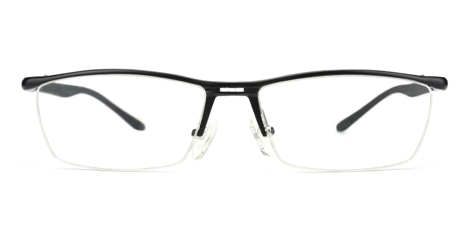 Vauseper-Black-Rectangle-Metal-Eyeglasses-additional2
