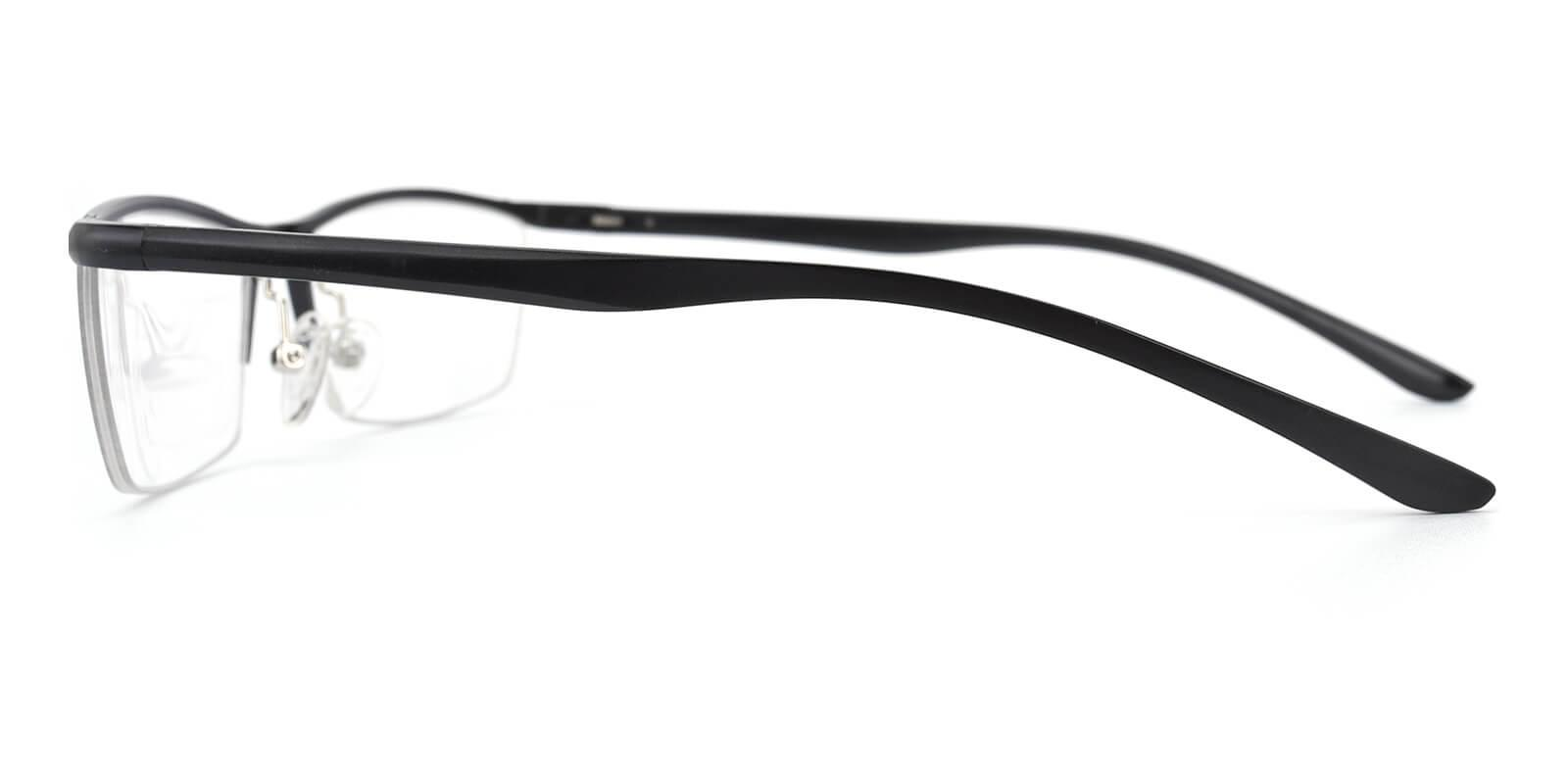 Vauseper-Black-Rectangle-Metal-Eyeglasses-additional3