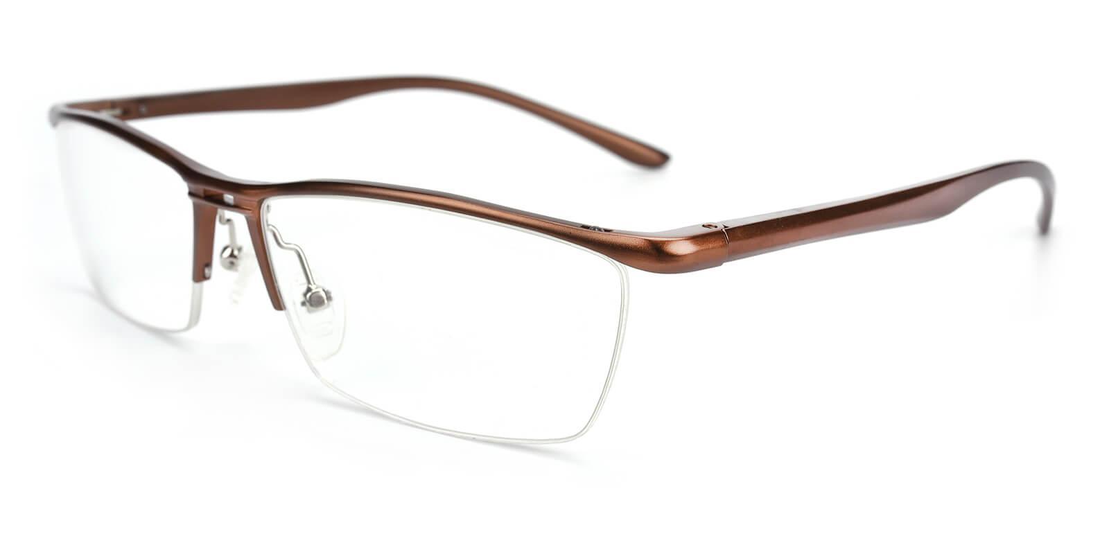Vauseper-Brown-Rectangle-Metal-Eyeglasses-additional1