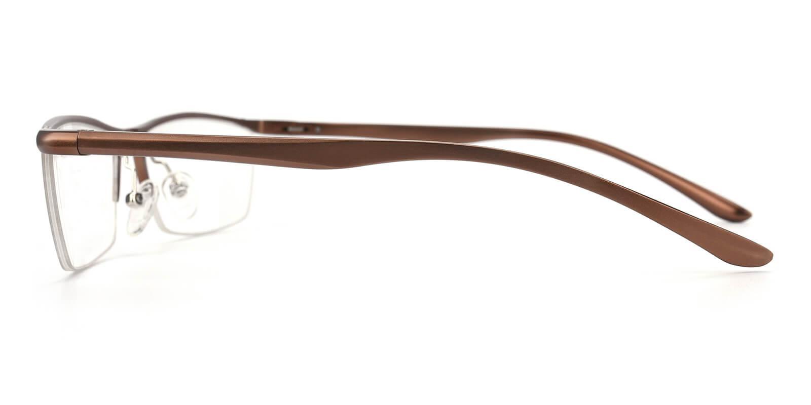 Vauseper-Brown-Rectangle-Metal-Eyeglasses-additional3