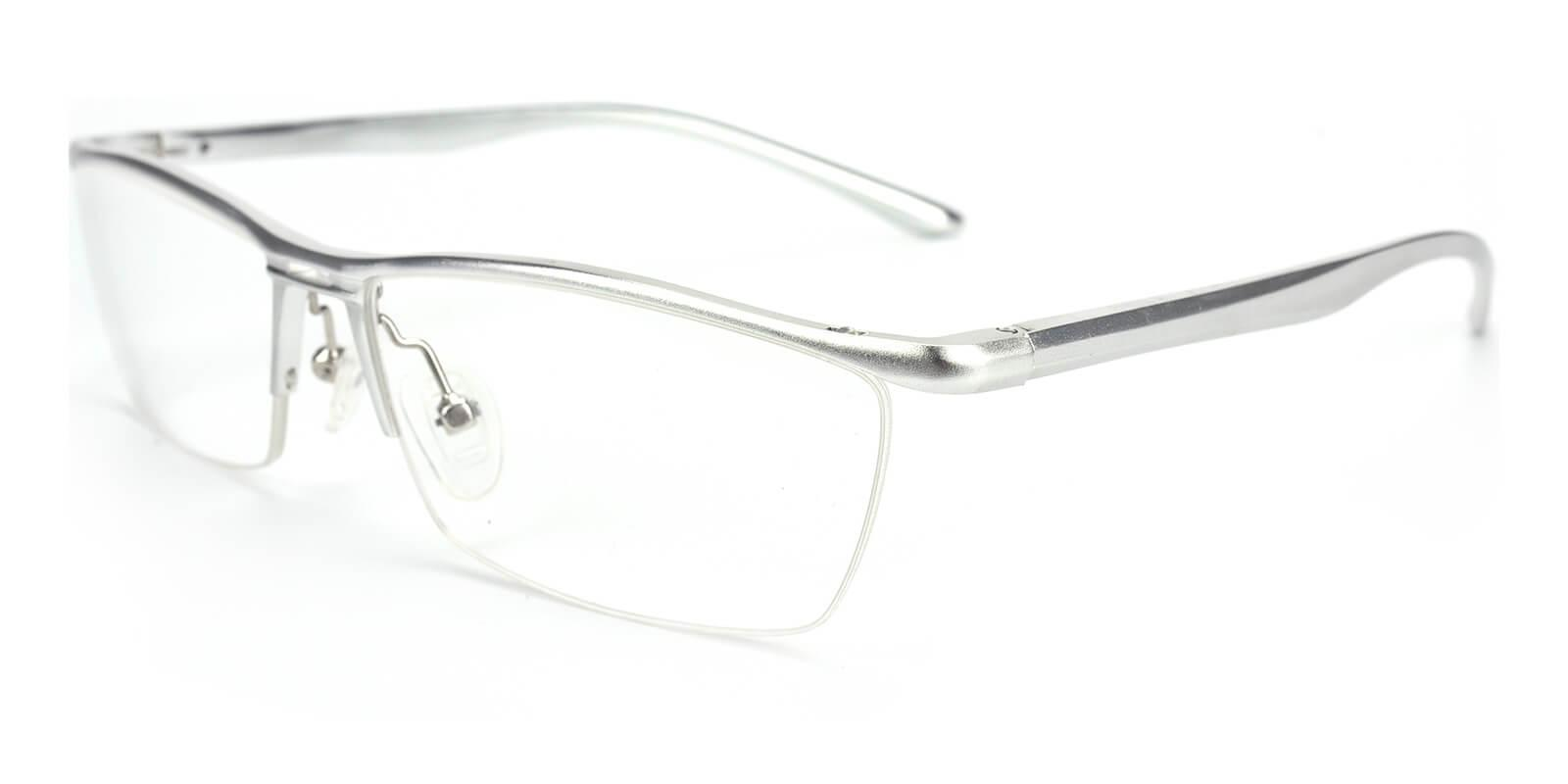 Vauseper-Silver-Rectangle-Metal-Eyeglasses-additional1