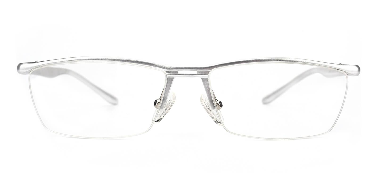 Vauseper-Silver-Rectangle-Metal-Eyeglasses-additional2