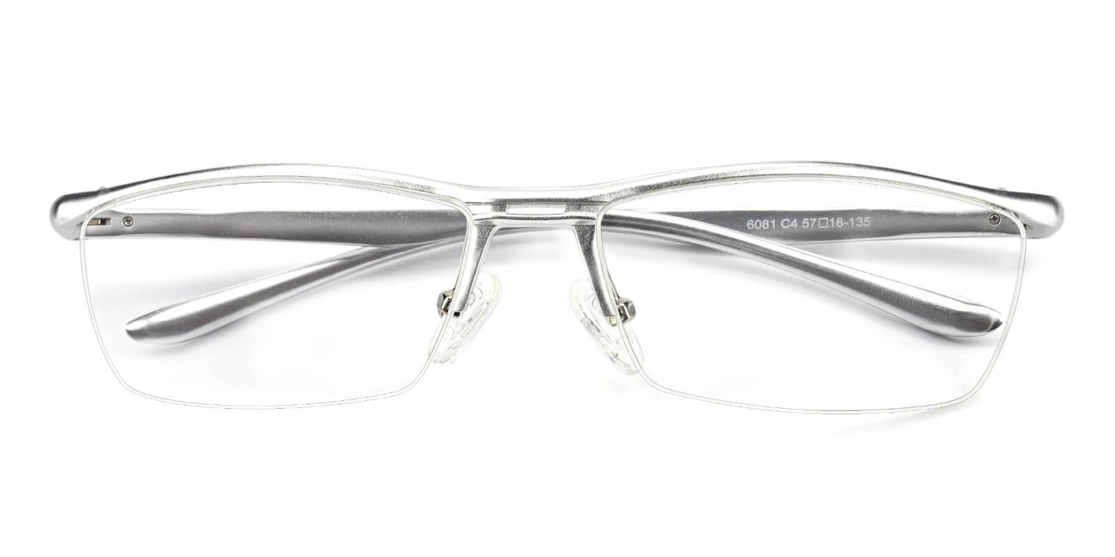 Vauseper-Silver-Rectangle-Metal-Eyeglasses-detail