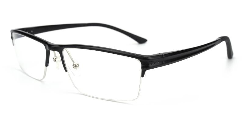 Leonado-Black-Eyeglasses