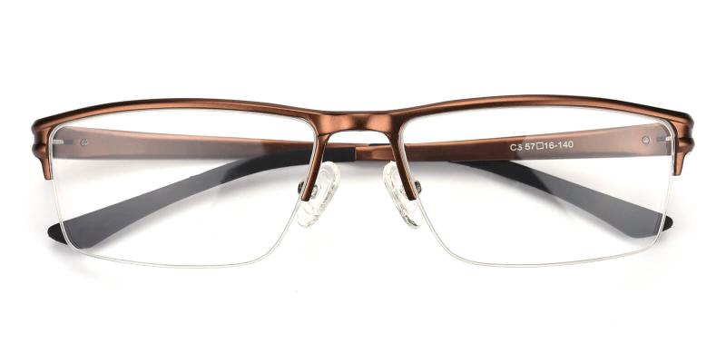 Leonado-Brown-Eyeglasses
