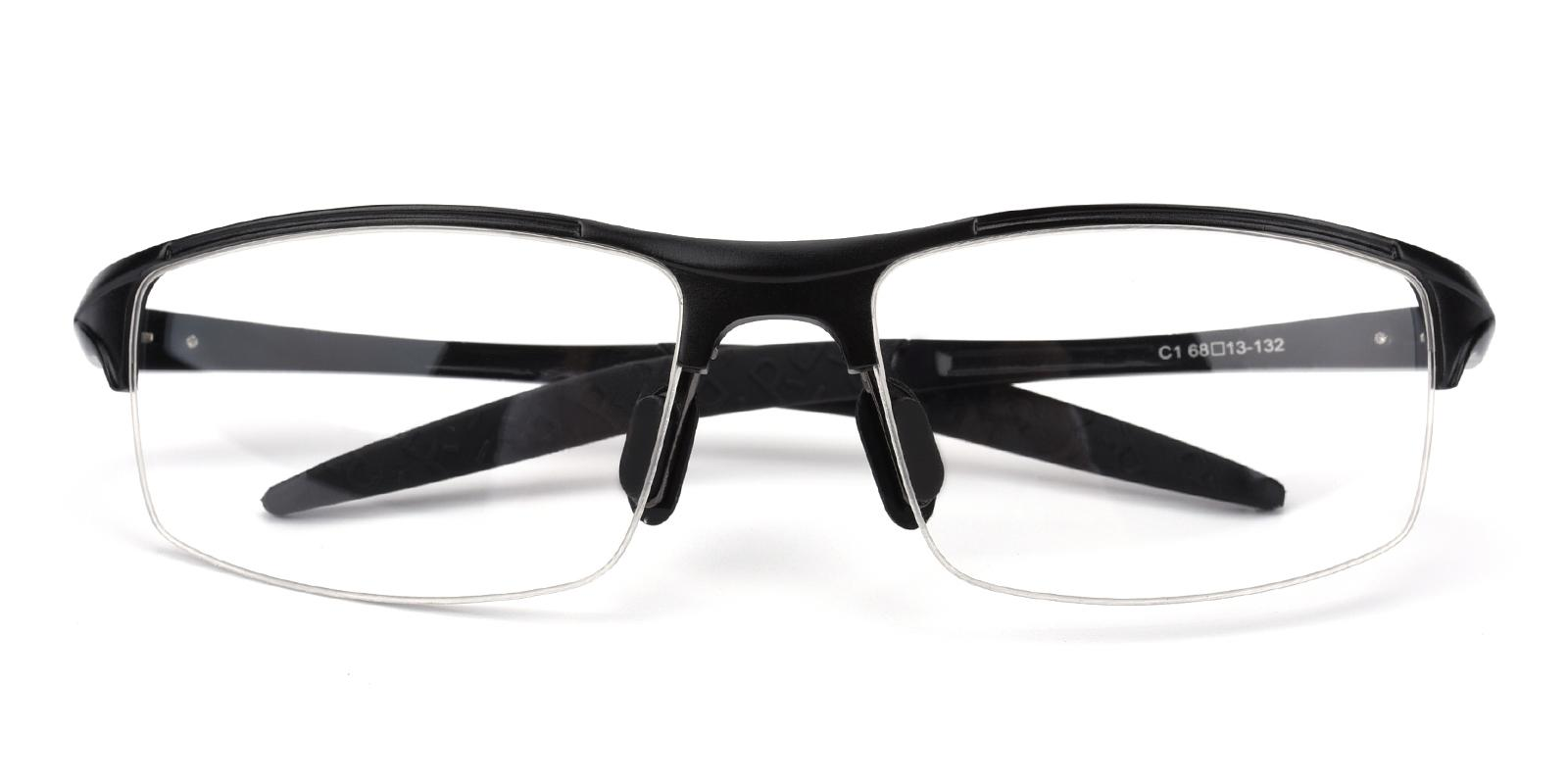 Darily-Black-Rectangle-Metal-SportsGlasses-detail