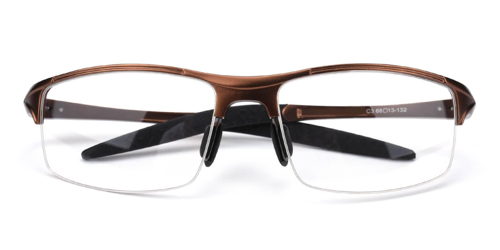 Darily-Brown-Rectangle-Metal-SportsGlasses-detail