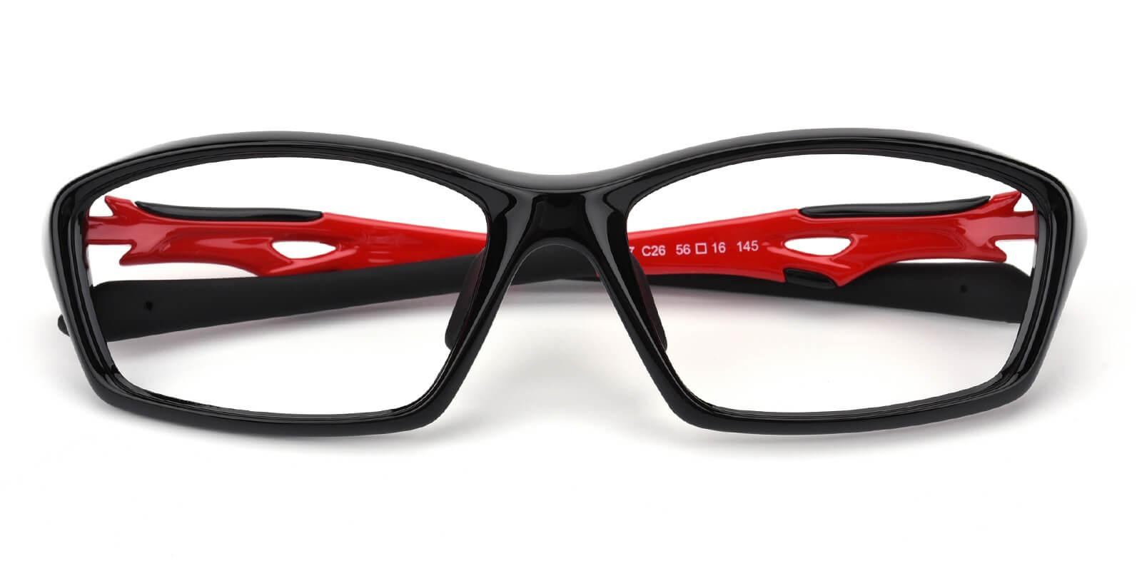 Spenieer-Red-Rectangle-TR-SportsGlasses-detail