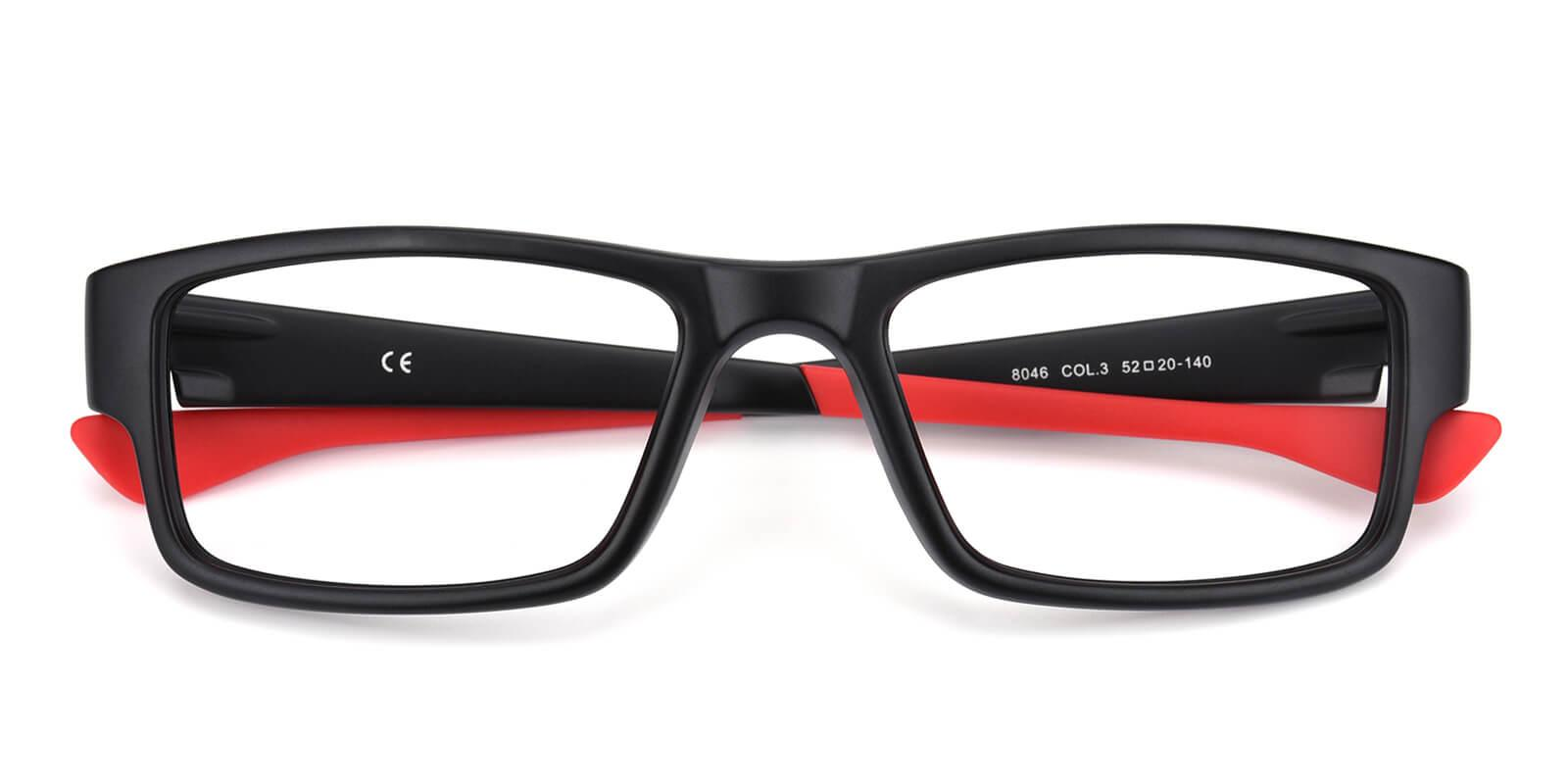 Jake-Red-Rectangle-TR-SportsGlasses-detail