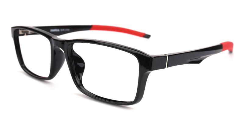 Keionta-Black-SportsGlasses