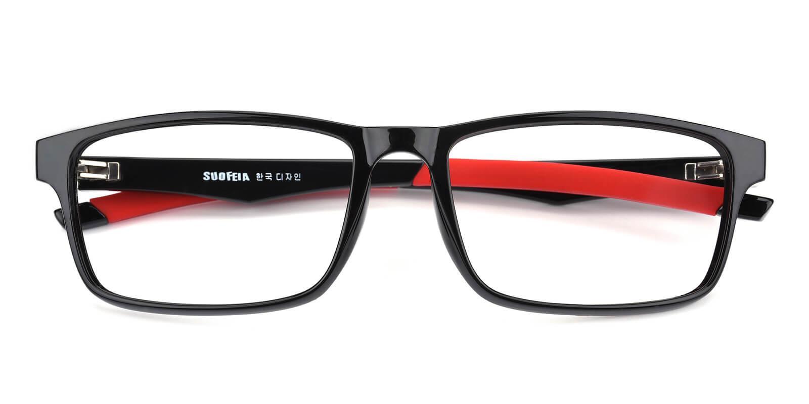 Keionta-Black-Rectangle-TR-SportsGlasses-detail